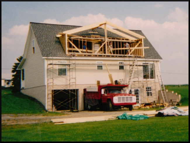 Mark pflug general contracting home additions for Cape cod dormers