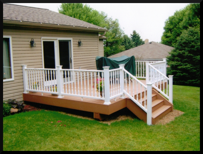 Large Second Story Deck With Patio Underneath