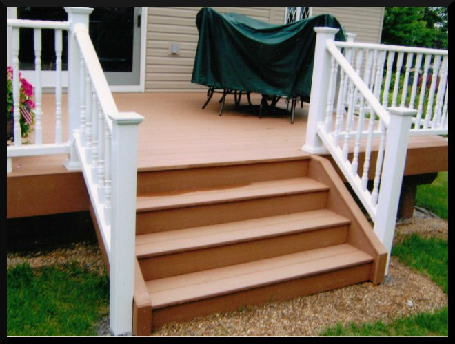 Steps On Small Deck